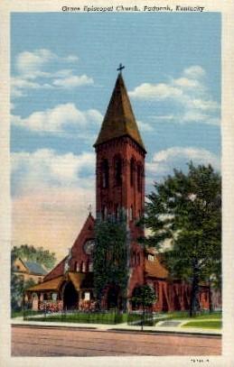 Grace Episcopal Church - Paducah, Kentucky KY Postcard