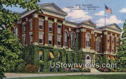 Main Building, Kentucky State University - Lexington Postcard