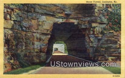 Boone Tunnel - Lexington, Kentucky KY Postcard