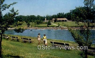 Bathing Beach - Kentucky Lake State Park Postcards, Kentucky KY Postcard