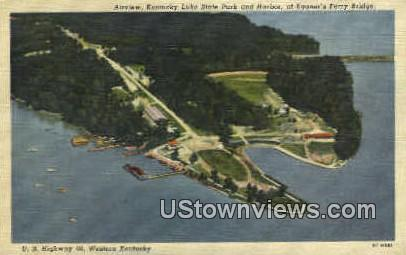 Kentucky Lake State Park & Harbor - Misc Postcard