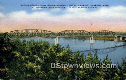 George Rogers Clark Memorial Bridge - Paducah, Kentucky KY Postcard