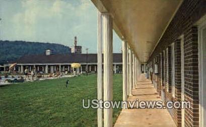 Kentucky Inn - Cave City Postcard