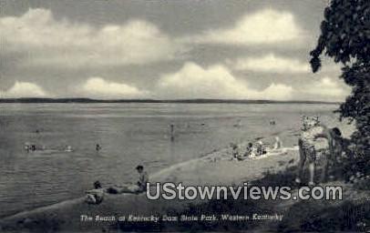 The Beach - Kentucky Dam Postcards, Kentucky KY Postcard