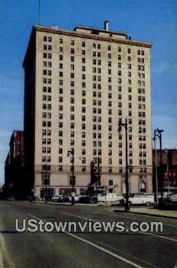 Kentucky Hotel - Louisville Postcard