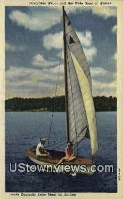 Kentucky Lake - Paducah Postcard