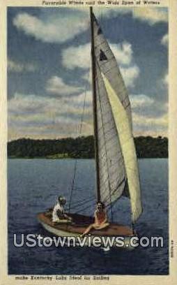 Kentucky Lake - Paducah Postcard