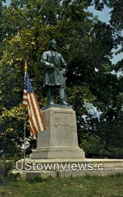 General Lloyd Tilghman Statue - Paducah, Kentucky KY Postcard