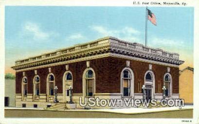 Post Office - Maysville, Kentucky KY Postcard