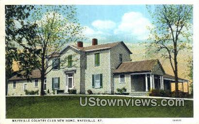 Country Club - Maysville, Kentucky KY Postcard
