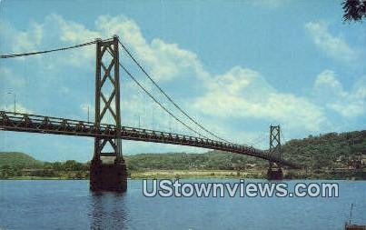 Aberdeen Free Bridge - Maysville, Kentucky KY Postcard