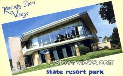 Dam Village - Gilbertsville, Kentucky KY Postcard