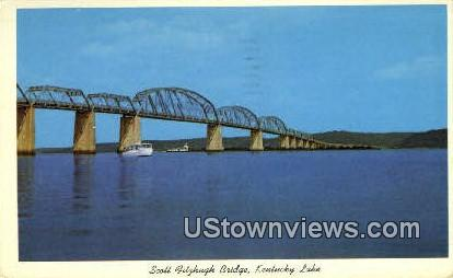 Scott Bridge - Kentucky Lake Postcards, Kentucky KY Postcard