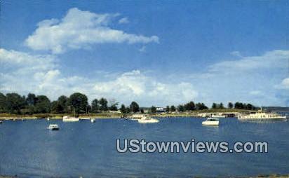 Boat Dock And Harbor - Gilbertsville, Kentucky KY Postcard