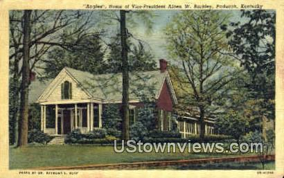 Vice President Alben W Barkley - Paducah, Kentucky KY Postcard
