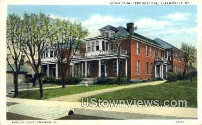Kings Daughters Hospital - Shelbyville, Kentucky KY Postcard