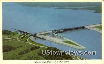 Ducks Eye View - Kentucky Dam Postcards, Kentucky KY Postcard