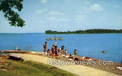 Bathing And Swim Dock - Kentucky Lake Postcards, Kentucky KY Postcard