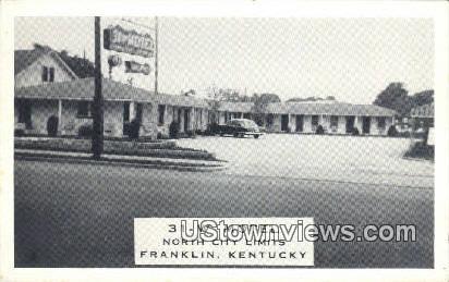 31 W Motel - Franklin, Kentucky KY Postcard