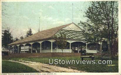 Dancing Pavilion - High Bridge, Kentucky KY Postcard
