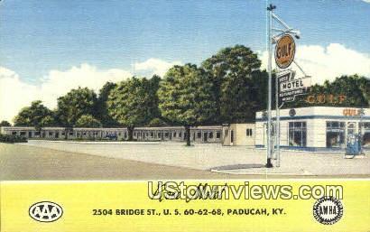 Rose Motel, Linen - Paducah, Kentucky KY Postcard