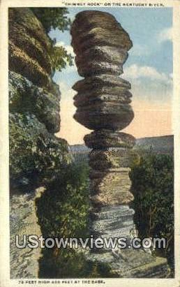 Chimney Rock - Kentucky River Postcards, Kentucky KY Postcard