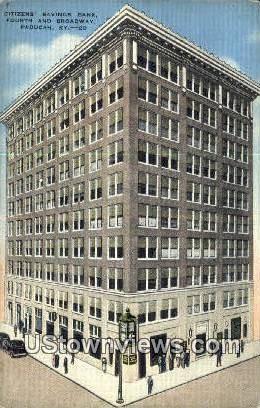 Citizens Savings Bank - Paducah, Kentucky KY Postcard