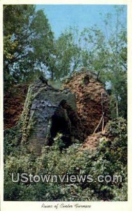 Ruins Of Center Furnace - Western Kentucky Postcards, Kentucky KY Postcard