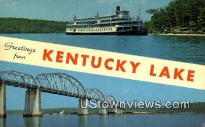 Greetings From - Kentucky Lake Postcards, Kentucky KY Postcard