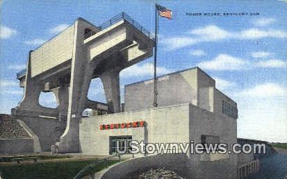 Power House - Kentucky Dam Postcards, Kentucky KY Postcard