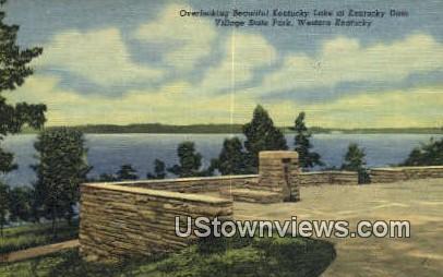 Kentucky Lake, Kentucky, KY, - Kentucky Lake Postcards Postcard
