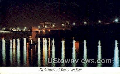 Reflections  - Kentucky Dam Postcards, Kentucky KY Postcard