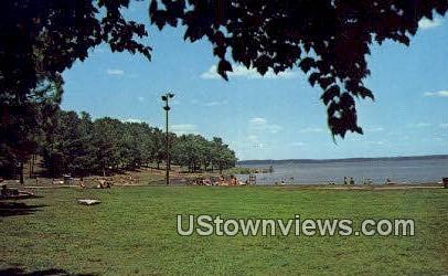 Beach - Gilbertsville, Kentucky KY Postcard