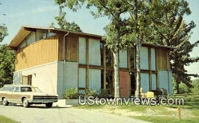 Executive Cottage - Gilbertsville, Kentucky KY Postcard