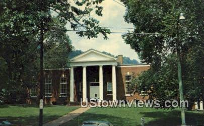 Public Library  - Maysville, Kentucky KY Postcard