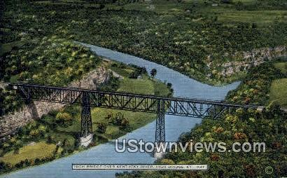 High Bridge, Kentucky, KY, Postcard
