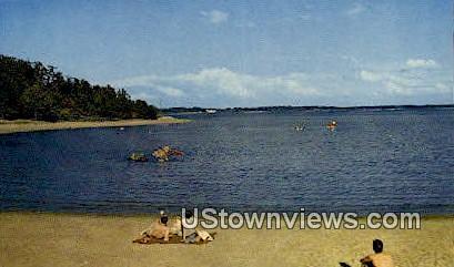 Beach At Kentucky Dam - Gilbertsville Postcard