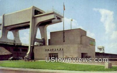 Powerhouse & Cranes - Western Kentucky Postcards, Kentucky KY Postcard