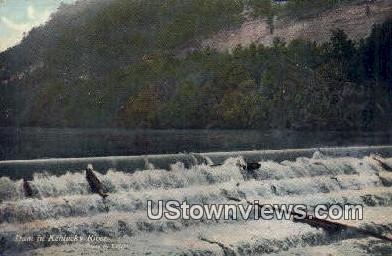 Dam - Kentucky River Postcards, Kentucky KY Postcard