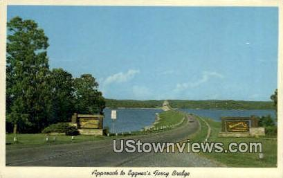Eggner's Ferry Bridge - Kentucky Lake State Park Postcards, Kentucky KY Postcard