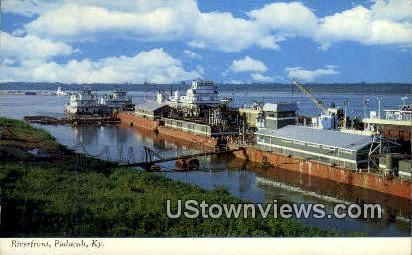 Riverfront - Paducah, Kentucky KY Postcard