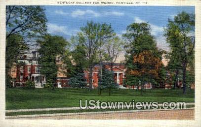 Kentucky College for Women - Danville Postcard