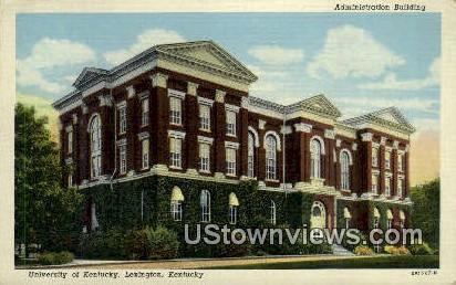 Admin Bldg, University of Kentucky - Lexington Postcard