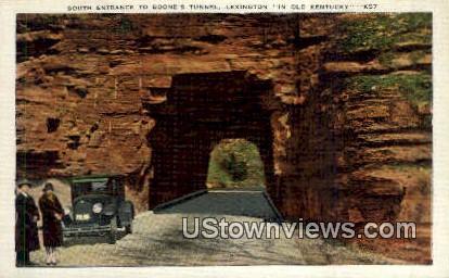 Boone's Tunnel - Lexington, Kentucky KY Postcard