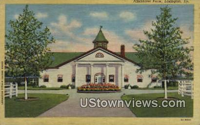 Almahurst Farm - Lexington, Kentucky KY Postcard