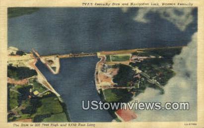 TV A's Kentucky Dam - Western Kentucky Postcards Postcard