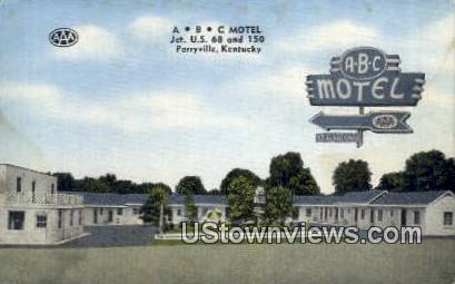 ABC Motel - Perryville, Kentucky KY Postcard