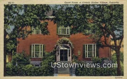 Historic Shaker Village - Lexington, Kentucky KY Postcard