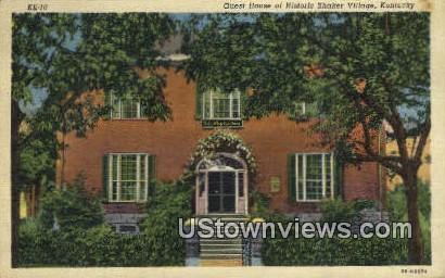 Guest House, Historic Shaker Village - Lexington, Kentucky KY Postcard