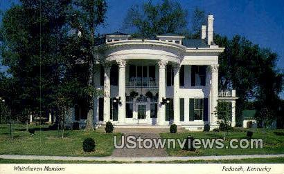 Whitehaven Mansion - Paducah, Kentucky KY Postcard